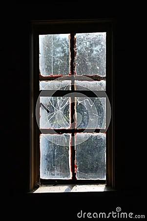 Spooky Broken Window Stock Images  Image 11248144