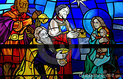 Stained Glass Window Royalty Free Stock Photo Image