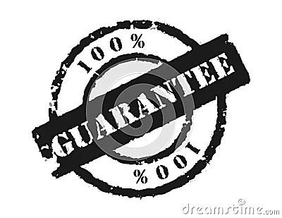 Stamp 100 Guarantee Royalty Free Stock Photo  Image 7576445