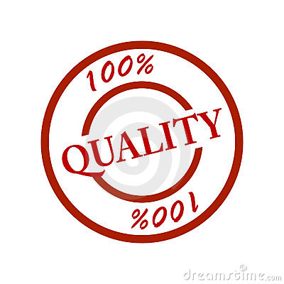 Stamp Quality 100 Stock Photography Image 8005052