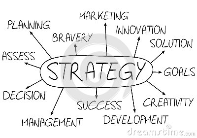 Strategy Abstract Concept Royalty Free Stock Images