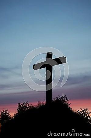 3d Wallpaper Clouds Sunset Cross Stock Photos Image 18447383