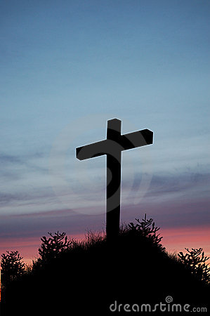 Sunset Cross Stock Photos Image 18447383