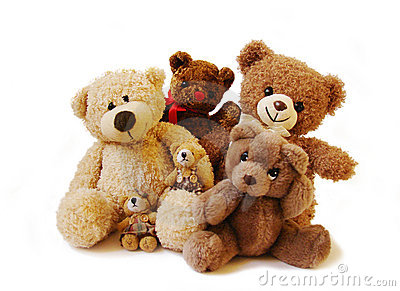 Teddy Bears Family Royalty Free Stock Photography  Image