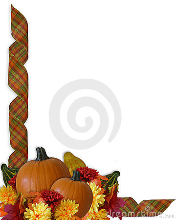 Fall Leaves Nd Burlap Wallpaper Thanksgiving Autumn Fall Ribbons Border Stock Image
