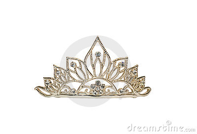 Tiara Or Crown Or Diadem Isolated Royalty Free Stock Photography - Image: 8780447