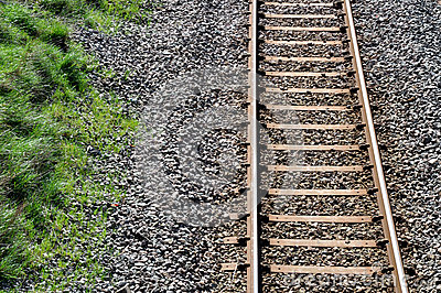 Train Track Stock Photo - Image: 40219210