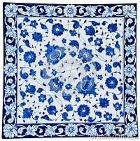 Royalty Free Stock Photo: Turkish tiles - floral design ...