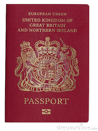 UK Passport Royalty Free Stock Photos  Image 10740548