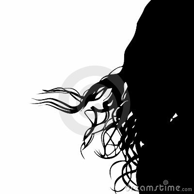 Vector Curly Hair Royalty Free Stock Image Image 2637096
