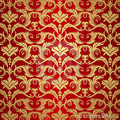 3d Wallpaper Free Download African Grey Vintage Gold And Red Background Royalty Free Stock Images