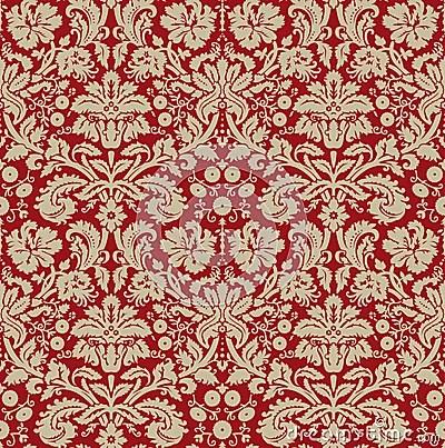Cute Gingerbread Wallpaper Wallpaper Beige Dark Red Royalty Free Stock Photo Image