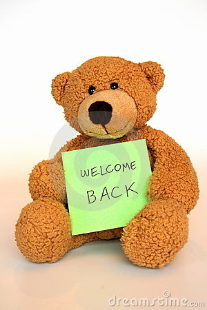 Welcome Back Stock Photos Image 8488873