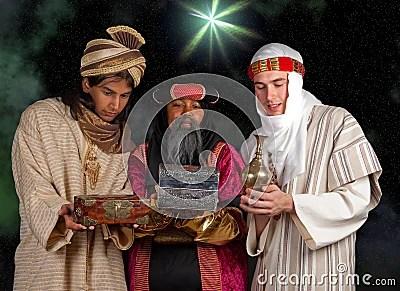 Wisemen Gifts Stock Photography Image 16920382