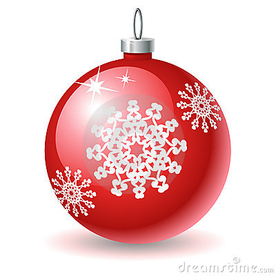 X Mas Ball Icon Royalty Free Stock Photography Image