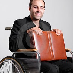Walking Stick Chair Stacking Chairs Direct Young Disabled Business Man In Wheelchair Stock Image - Image: 10222501