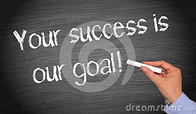 Your Success Is Our Goal Stock Photo  Image 33843760