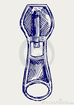Zipper Sketch Royalty Free Stock Photography Image 26975387