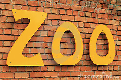 Zoo Sign Royalty Free Stock Photography  Image 13832327
