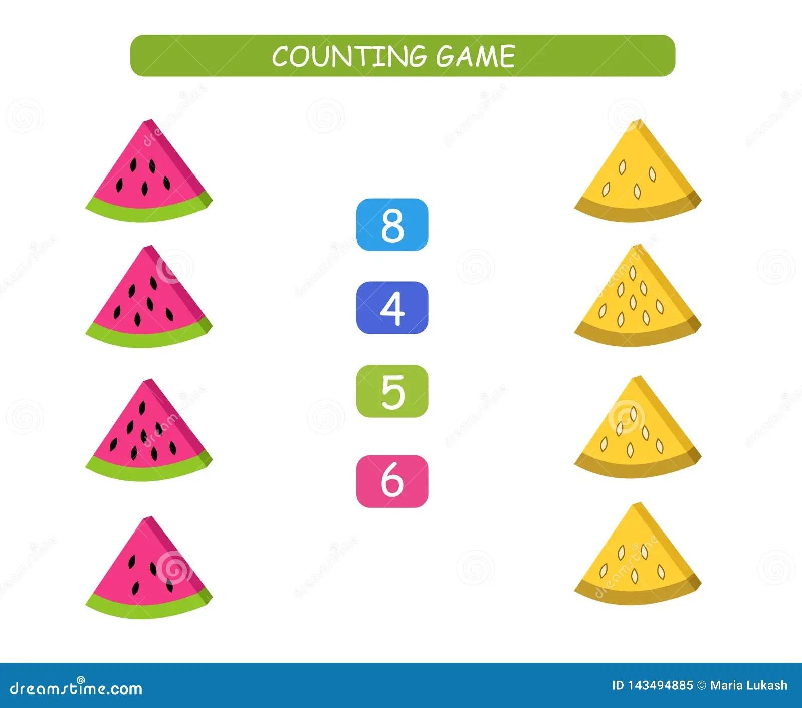 Preschool Fruit Matching Worksheet