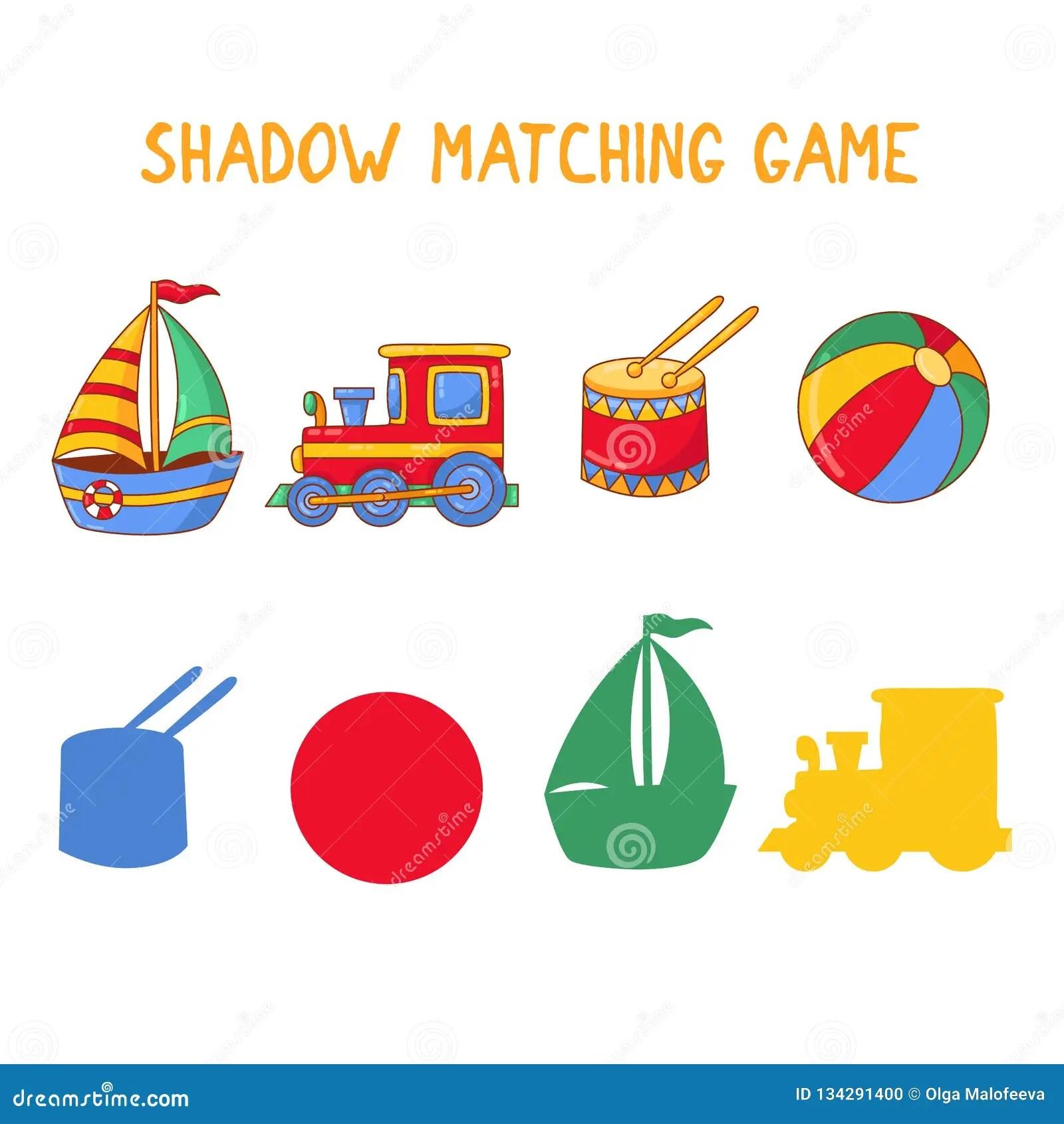 Matching Shadows Stock Illustrations 426 Matching