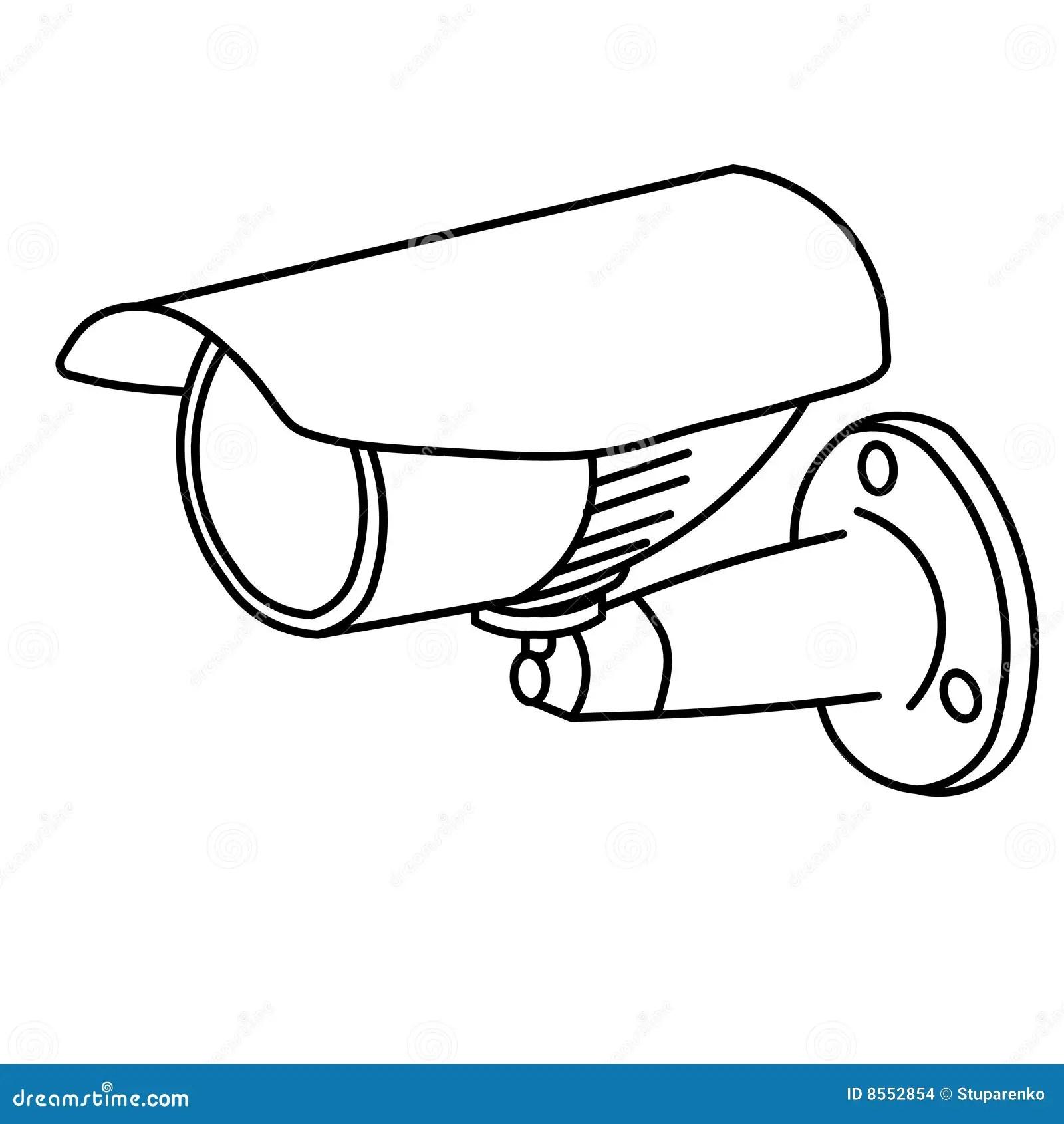Uberwachungskamera Stockbilder