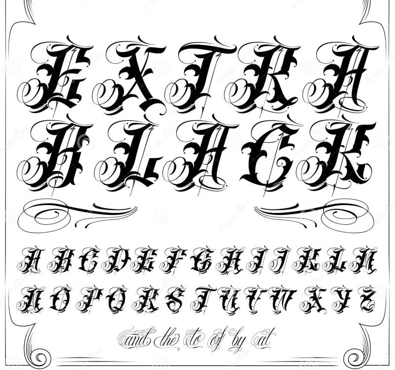 old english cursive letters a z invitationscriative co