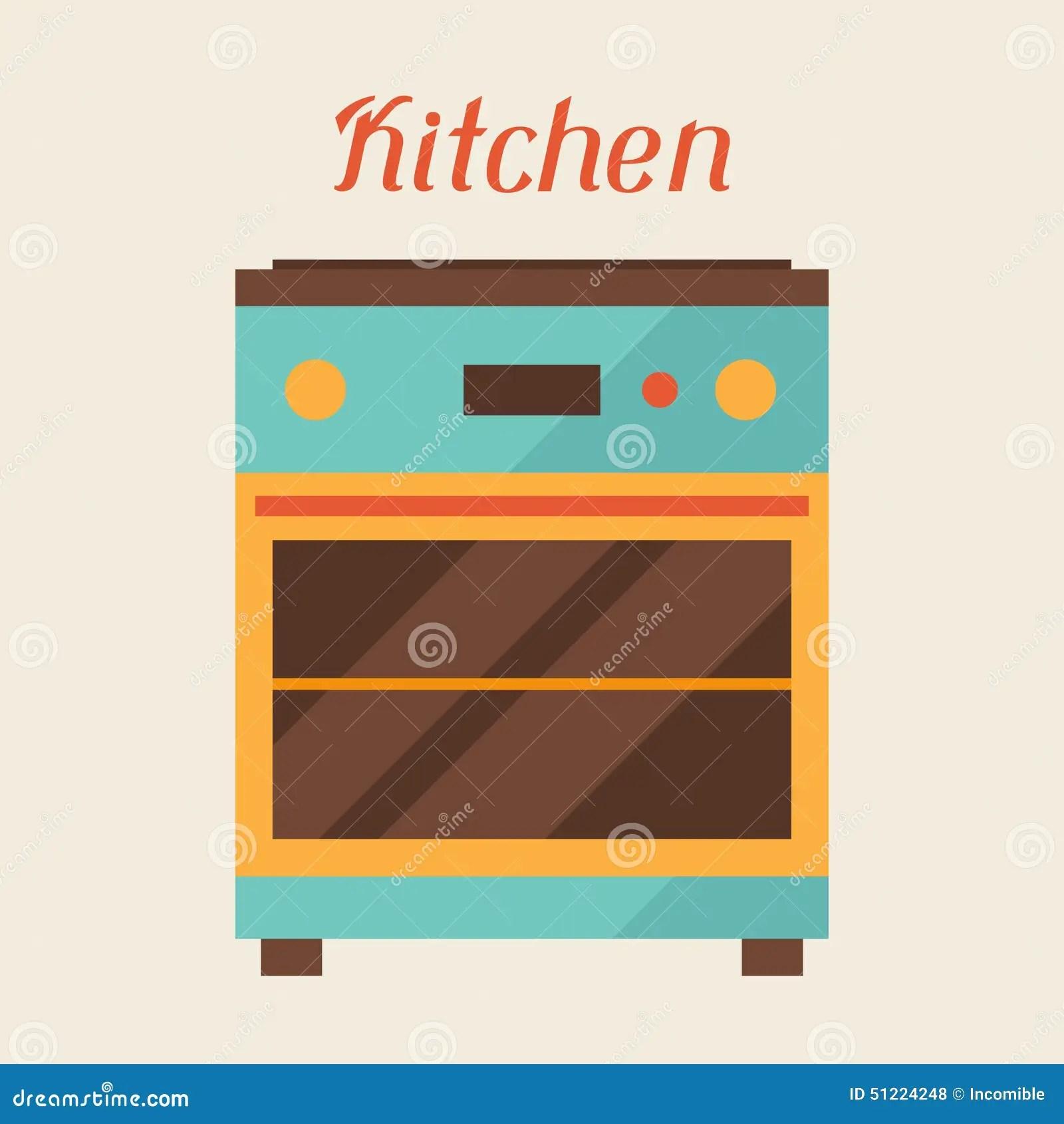 kitchen aid ovens long curtains 与厨房烤箱的卡片在减速火箭的样式向量例证 插画包括有格式 主厨 饮料 与厨房烤箱的卡片在减速火箭的样式