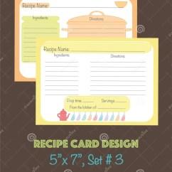 Kitchen Tool Set Buffets 与厨房的装饰食谱卡集用工具加工元素向量例证 插画包括有生日 杯子 与厨房工具的装饰食谱卡集设计元素