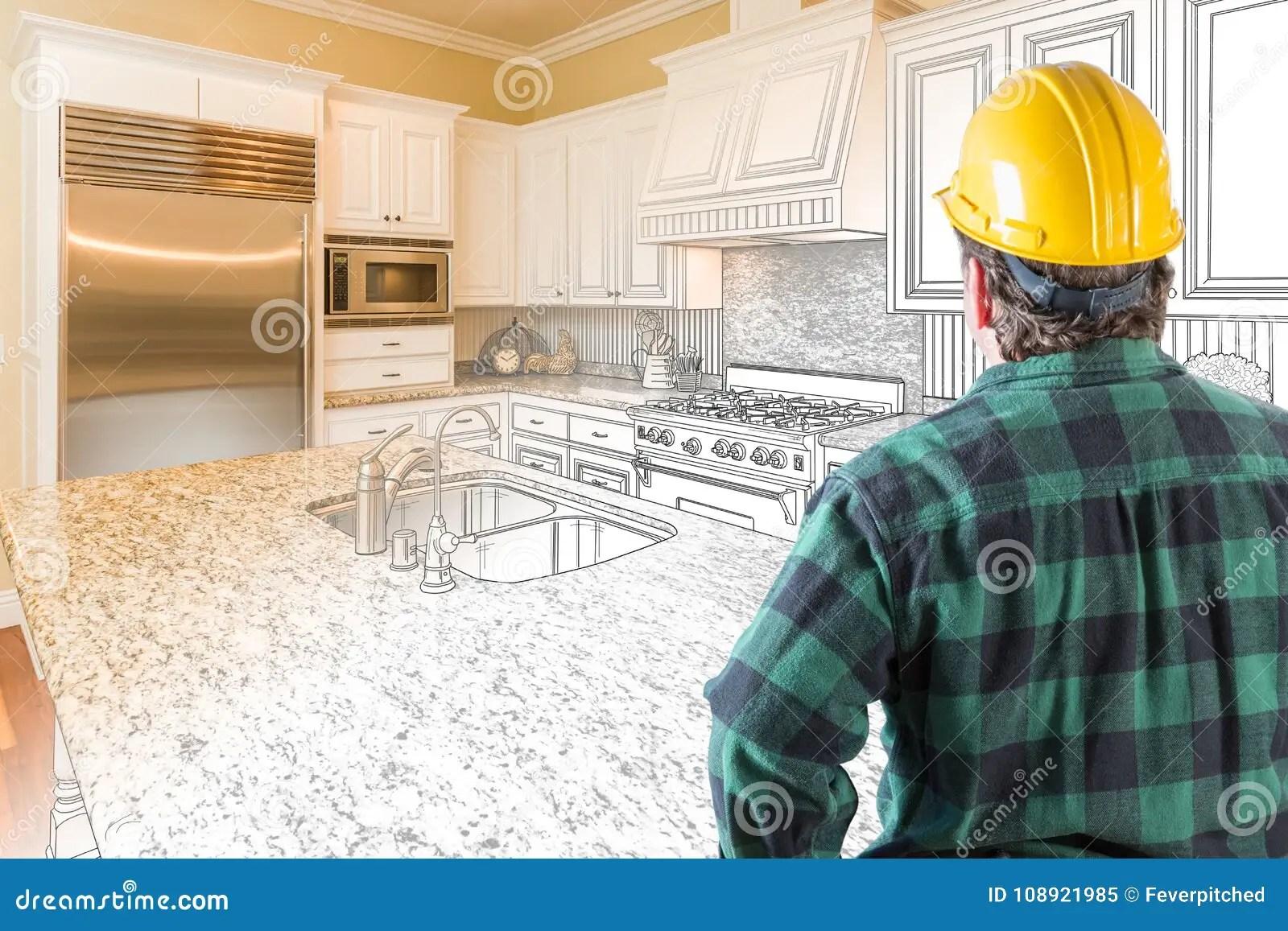 kitchen contractor gel mats for 与安全帽和工具传送带的公承包商看一个厨房库存例证 插画包括有布琼布拉 与安全帽和工具传送带的公承包商看一个厨房