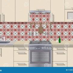Modern Kitchen Art Island For Ikea 与家具的厨房内部背景现代厨房设计标志家具厨房例证向量例证 插画包括有 与家具的厨房内部背景现代厨房设计标志家具厨房例证
