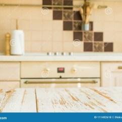 In Stock Kitchens Kitchen Table Bench Seat 与迷离厨台的厨房用桌库存照片 图片包括有室内 空间 蓝蓝 Browne 与迷离厨台的厨房用桌