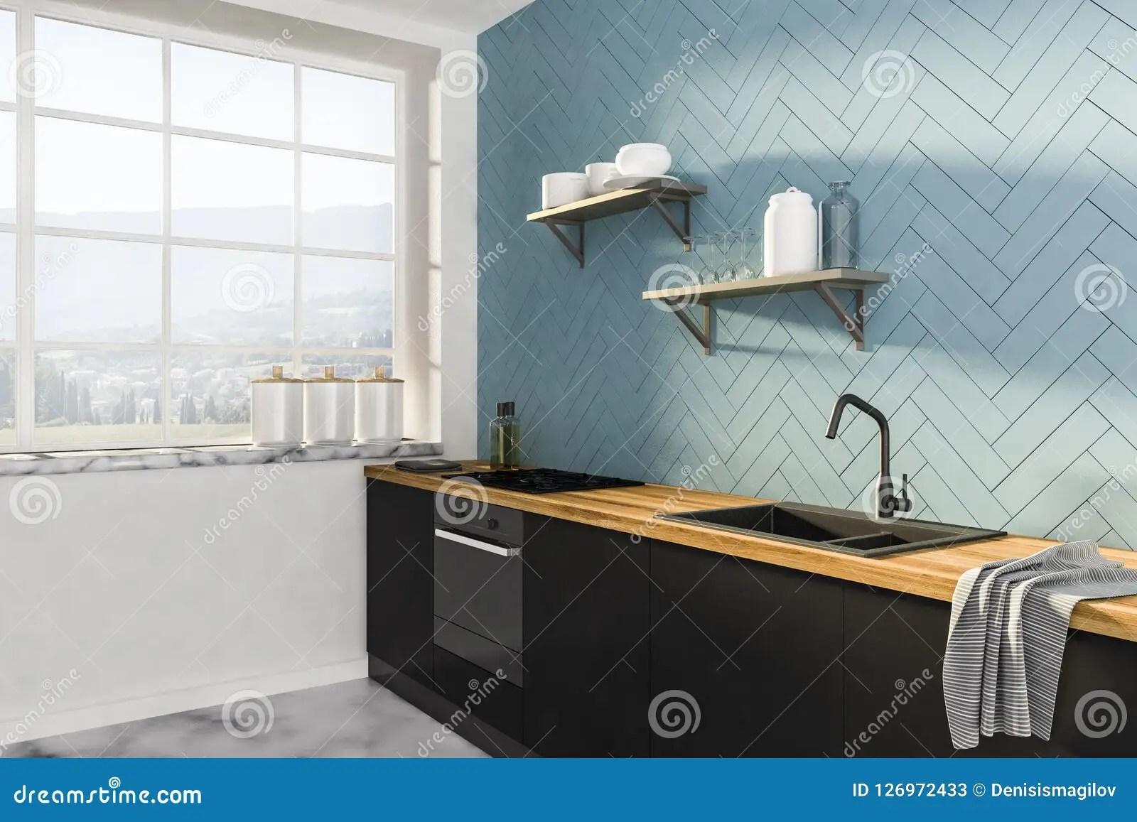 grey kitchen countertops white island with butcher block top 与黑工作台面的灰色厨房角落库存例证 插画包括有国内 计数器 建筑 与黑工作台面的灰色厨房角落