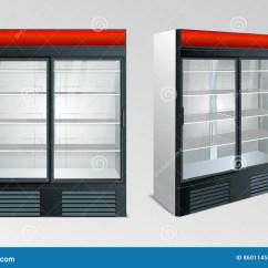 Kitchen Showrooms Sink Hose Repair 冰箱陈列室厨房库存例证 插画包括有塑料 设计 陈列室 查出 粮食 冰箱陈列室厨房