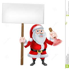 Kraus Kitchen Sinks Pink Rug 动画片圣诞老人水管工向量例证 插画包括有克劳斯 圣诞老人 安装工 拿着标志和洗手间或水槽柱塞的圣诞老人的圣诞节动画片例证