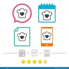Kitchen Signs For Work Retro Light Fixtures 厨师帽子标志象烹调标志向量例证 插画包括有主厨 工作 按钮 重点 厨师帽子标志象烹调标志