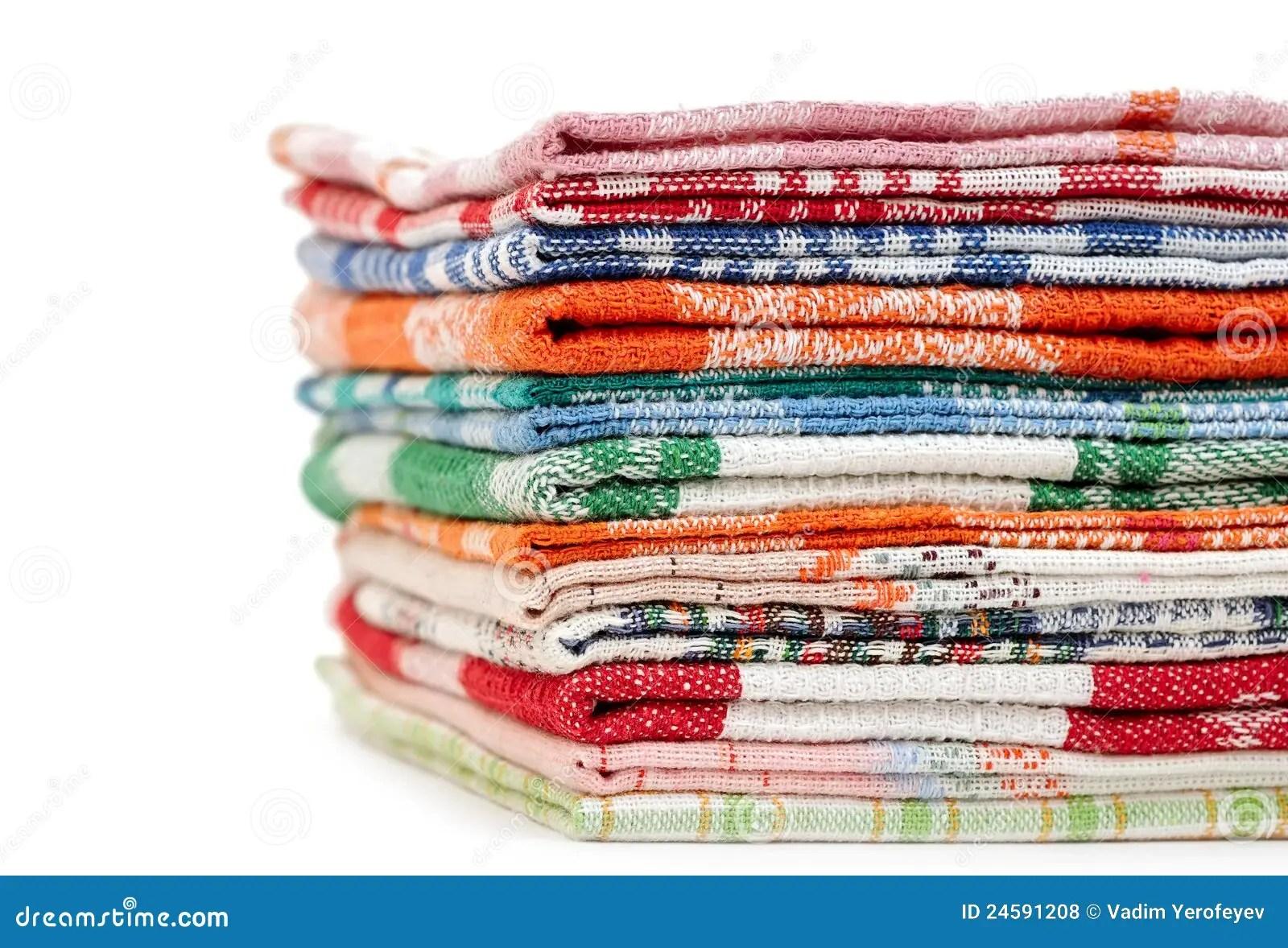 kitchen linens french cabinets 厨房亚麻布堆毛巾库存照片 图片包括有生气勃勃 自然 设备 没人 背包 厨房亚麻布堆毛巾