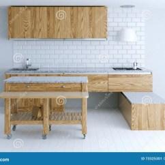 Summer Kitchen Ideas Cabinet Franchise 厨房室内设计的完善的想法与木家具库存图片 图片包括有厨房 灌肠器 厨房室内设计的完善的想法与木家具