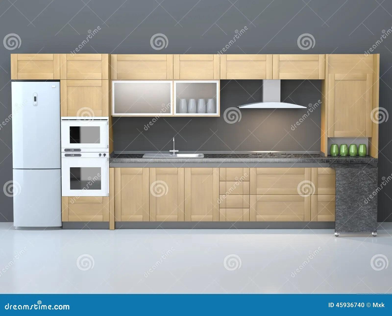 furniture for kitchen cheap hotels in negril with 厨房家具库存例证 插画包括有家具 设备 尺寸 板条 会议室 形状 厨房家具