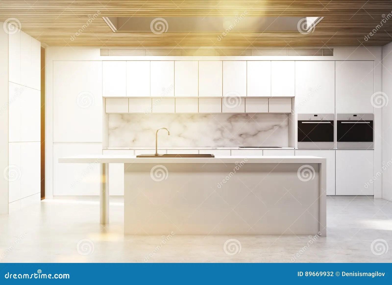 kitchen island counter remove grease buildup from cabinets 厨房小岛 大理石 被定调子库存例证 插画包括有例证 国内 方便 复制 一个厨房小岛的正面图在有白色柜台和两个火炉的一个厨房里3d翻译 被定调子的图象