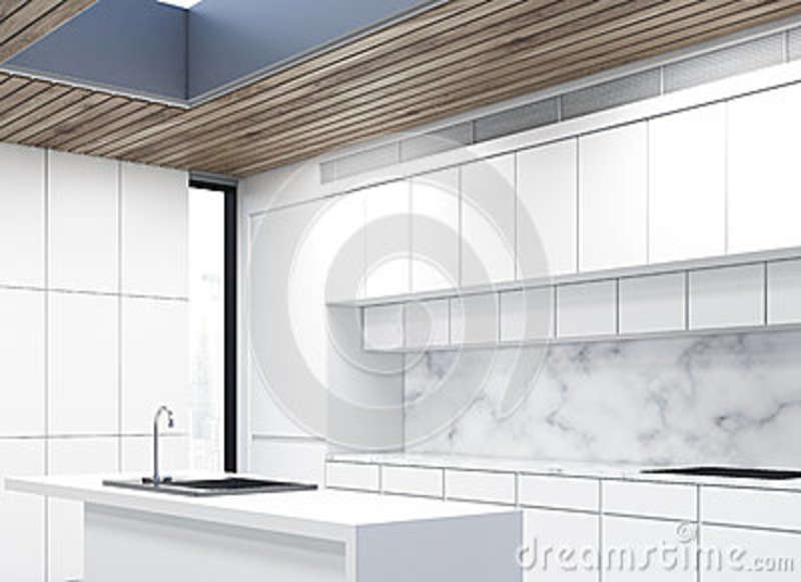 kitchen island counter cabinet resurfacing 厨房小岛 大理石 边库存例证 插画包括有舒适 碗柜 框架 现代 家具 一个厨房小岛的侧视图在有白色柜台和两个火炉的一个厨房里3d翻译
