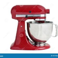 Kitchen And Mixer Delta Faucet Repair Kit 厨房搅拌机库存图片 图片包括有现代 烹调 家庭 红色 镀铬物 不锈 厨房搅拌机