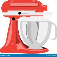 Kitchen And Mixer Space Saving Table 厨房搅拌器葡萄酒蚀刻向量例证 插画包括有活版 手工制造 设备 墨水 厨房搅拌机向量例证