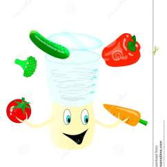 Kitchen Machine Commercial Equipment List 厨房机器准备沙拉库存例证 插画包括有高兴 食物 查出 胡椒 红萝卜 厨房机器准备沙拉