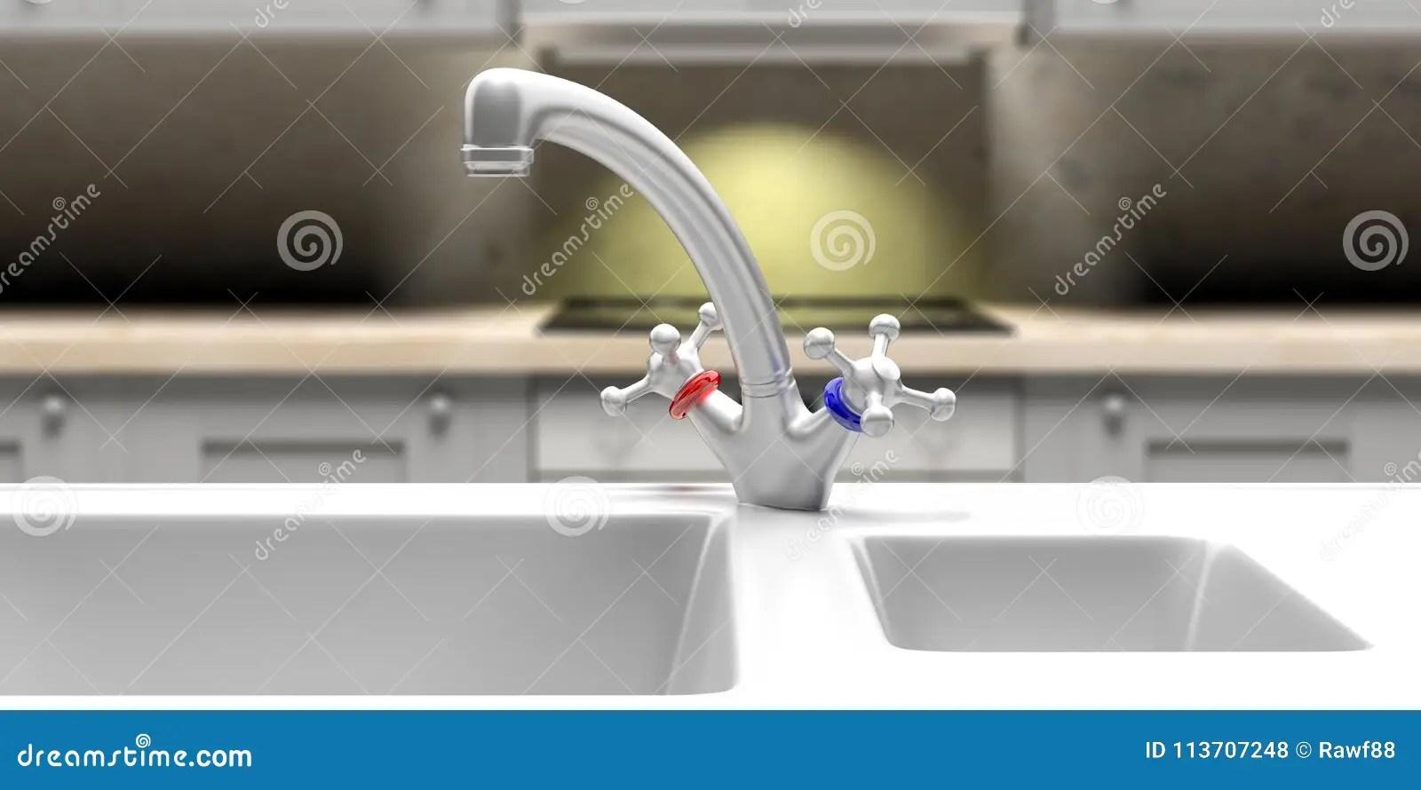 kitchen sinks and faucets birkenstock shoes 厨房水槽和水龙头特写镜头 迷离内阁和烹饪器材背景3d例证库存例证 插画 迷离内阁和烹饪器材背景3d例证
