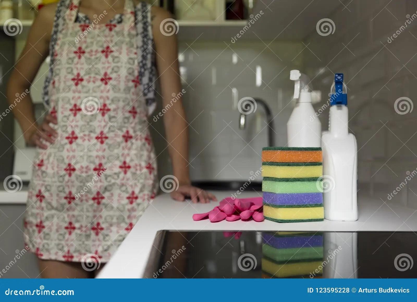 kitchen cleaning industrial cabinets 厨房清洁工具清洗厨房家庭equ的妇女库存照片 图片包括有手套 洁净 厨房清洁工具清洗厨房家庭equ的妇女