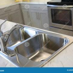 High End Kitchen Sinks Personalized Towels 厨房现代水槽库存照片 图片包括有花岗岩 商业 设计 并且 灌肠器 现代高端豪华厨房不锈钢水槽