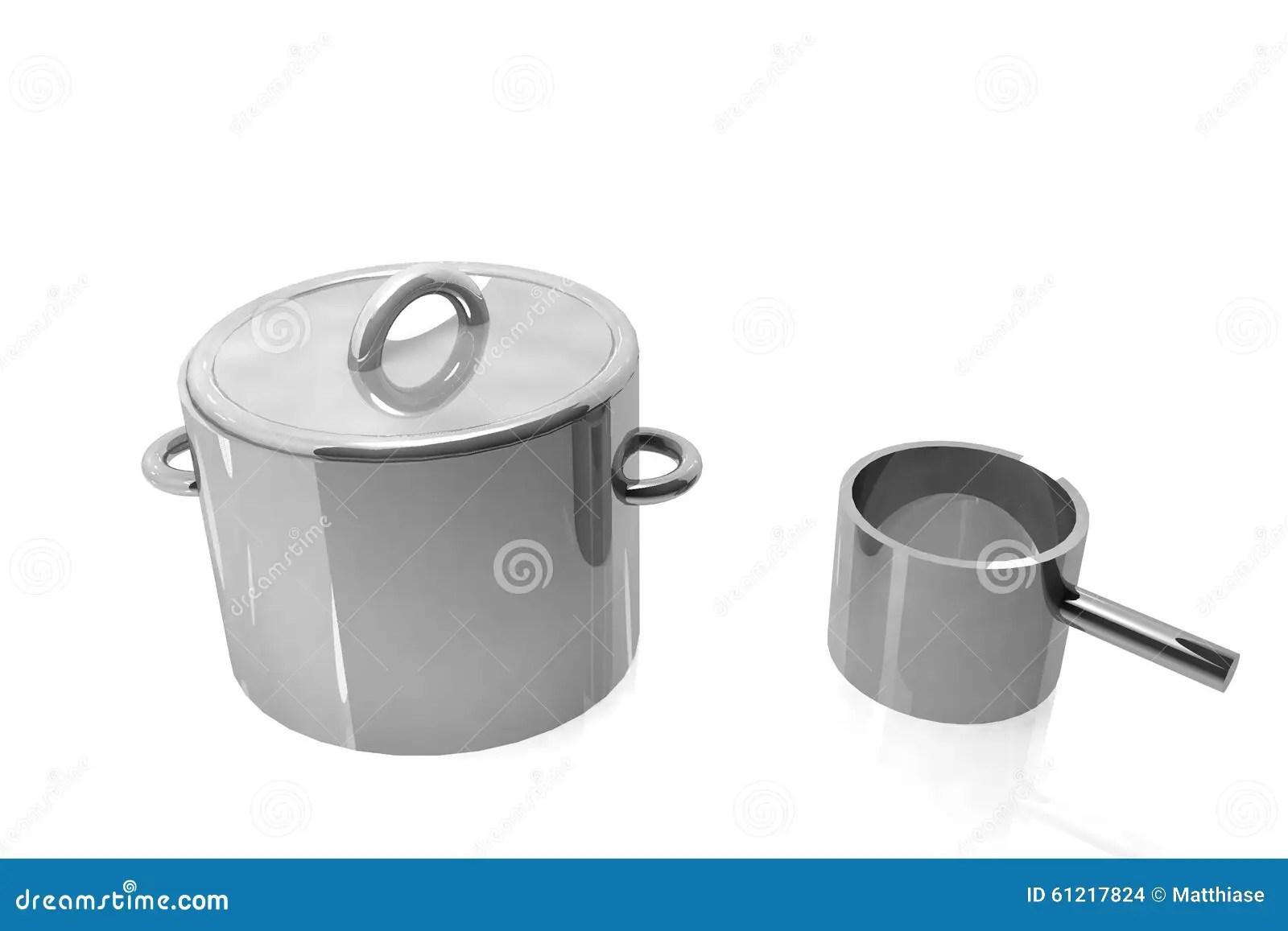 kitchen canister mr direct sinks reviews 厨房罐3d 库存例证 插画包括有厨房 豪华 烹饪器材 空白 厨具 对象