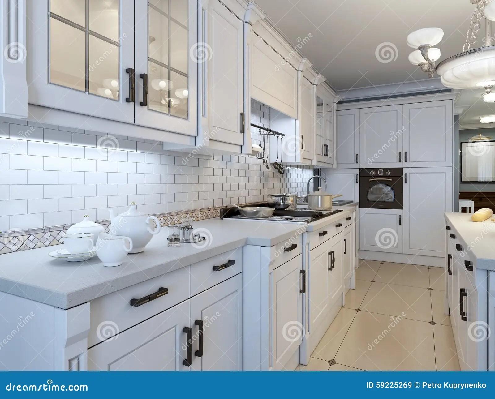kitchen art decor stainless steel trash can 厨房艺术装饰趋向库存图片 图片包括有颜色 机柜 艺术 内部 蓝色 厨房艺术装饰趋向
