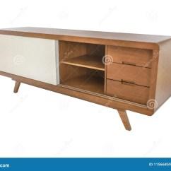 White Kitchen Buffet Cost Of Remodeling A 在白色背景隔绝的自助餐白色木头库存图片 图片包括有楼层 当代 厨房 在白色背景隔绝的客厅家具自助餐白色木头